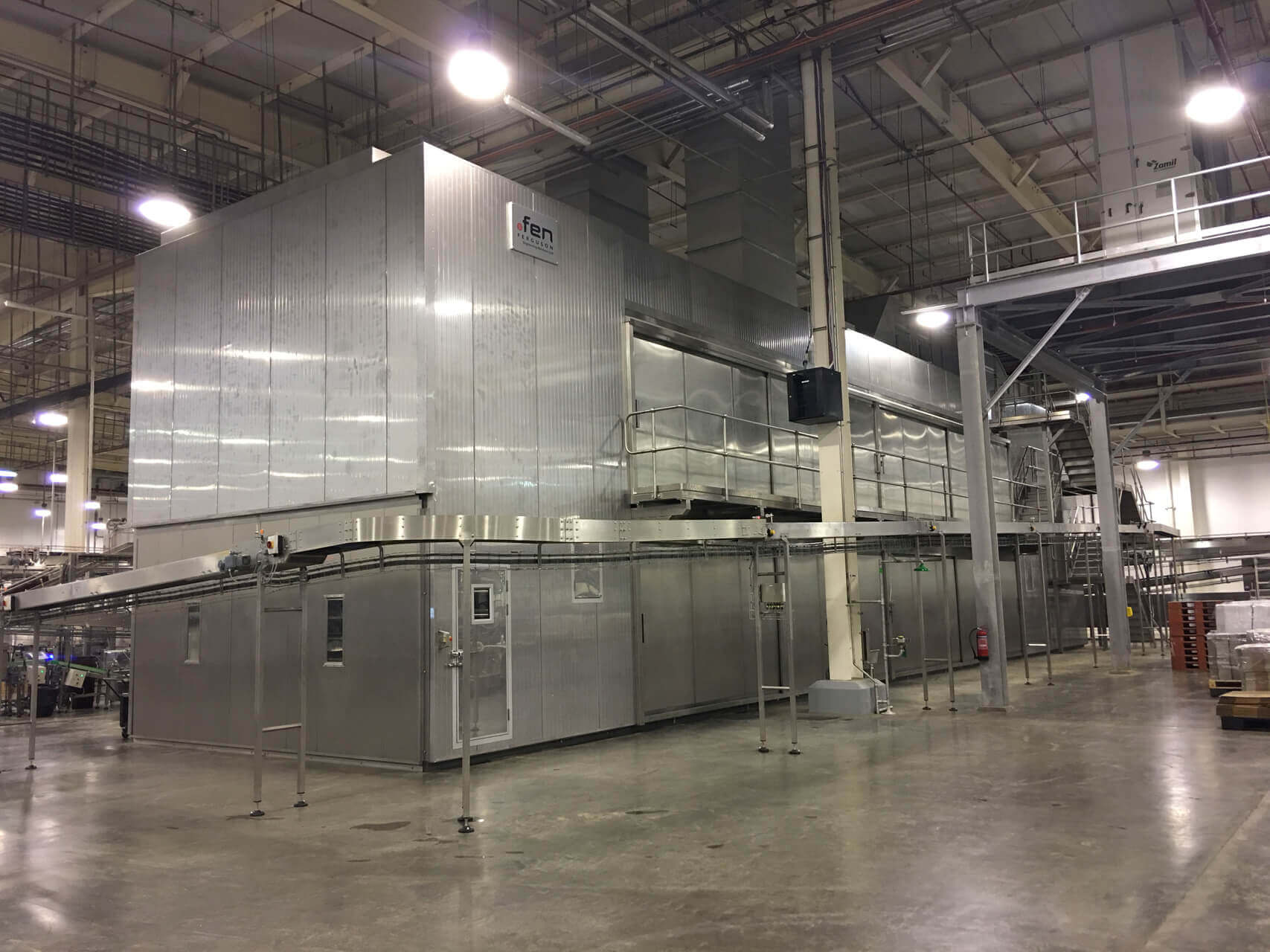 Cooler & Cold Bread Conveyors-after
